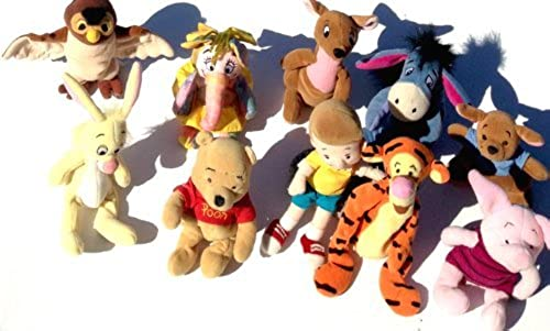 Winnie the Pooh 10 Piece Bean Bag Set by Disney Interactive Studios