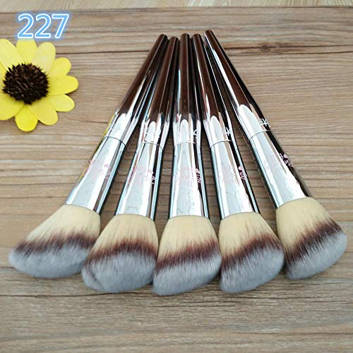 MPKHNM Blush makeup brush fashion generous oblique hair red contour makeup brush