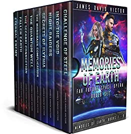 Memories of Earth Far Future Space Opera Boxed Set by [James David Victor]