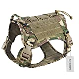 Motusamare Service Dog Vest Training Hunting Molle Nylon...