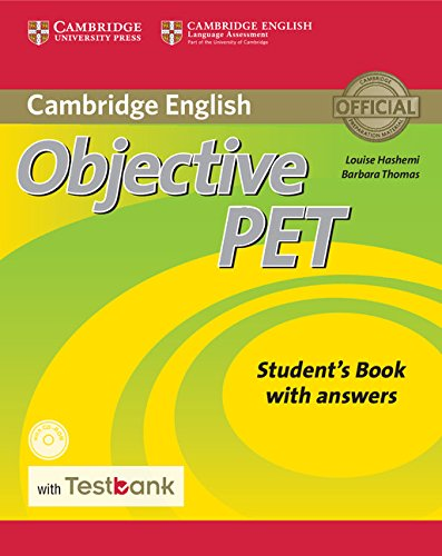 Objective PET Student's Book with Answers with CD-ROM with Testbank 2nd Edition