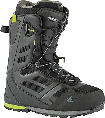 Nitro Herren Incline TLS Boot ´22 Snowboardboot, Black-Lime, 280