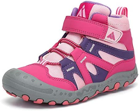 Little Kids Water Resistant Hiking Boots Toddlers Boys Girls Anti Collision Toe Athletic Outdoor product image