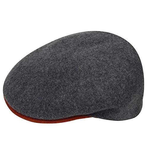 Kangol Hombre Gorra Wool 504 S Flannel Mix/Safety