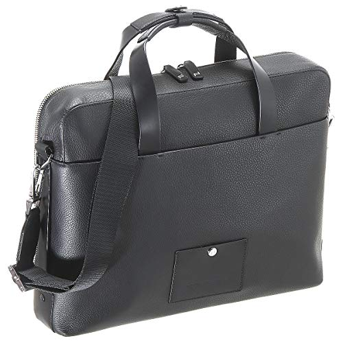 Porsche Design Voyager 2.0 Briefbag SHZ Aktentasche 39 cm Black