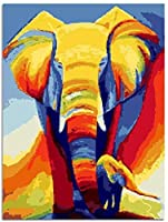 大人のための1000ピースのジグソーパズル家族のためのパズルセット-色付きの象木製パズル教育ゲーム子供のためのチャレンジパズル子供-50x75cm