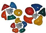 Loggyland Klettersteine-Set 15 Stück - gemischte Größen