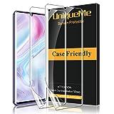 UniqueMe [2 Pack] Protector de Pantalla para Xiaomi Mi Note 10 / Note 10 Pro/Note 10 Lite, [Fácil instalación] [Sin Burbujas] HD Clear TPU Case Friendly Película Flexible de Cobertura Completa