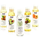 New Now Foods Solutions 5 Pack - Carrier Oil Gift Set: Almond Oil