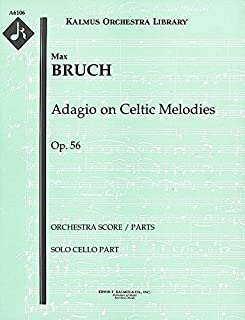 Adagio on Celtic Melodies, Op.56: Solo cello part [A6106]