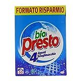 Bio Presto Detersivo Lavatrice in Polvere per Bucato, Rimozione delle Macchie, 50 Misurini...