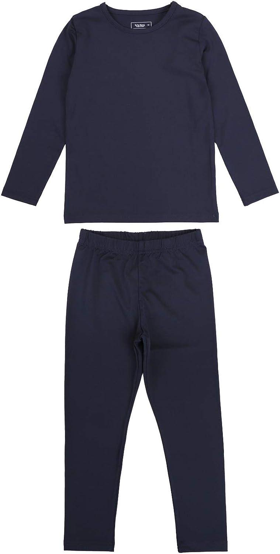 TOTO HEROS Kids & Toddler Boys Girls Stretchable Thermal Underwear Set
