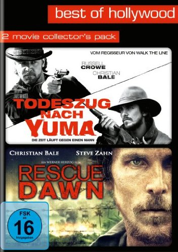 Todeszug nach Yuma / Rescue Dawn - Best of Hollywood/2 Movies Collector's Pack [2 DVDs]
