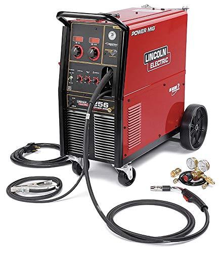 Lincoln Electric Power MIG 256 Flux-Cored/MIG Welder with Cart - Transformer, 230V, 30-300 Amp Output, Model NumberK3068-1
