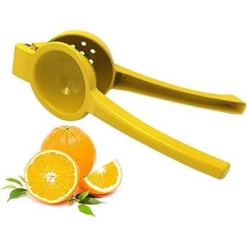 Aleaci/ón de aluminio Presi/ón manual de la mano Exprimidor de frutas Exprimidor de lim/ón Exprimidor de lim/ón c/ítrico naranja Exprimidor de cocina para el hogar Verde Exprimidor de lim/ón exprimidor