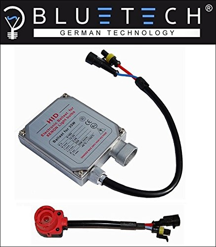 BLUETECH PLUS DIGITALES Xenon STEUERGERÄT/VORSCHALTGERÄT FÜR D2R/D2S Brenner.Abnahme FREI mit E Prüfzeichen. Kompatibel zu 5DV007760-V1
