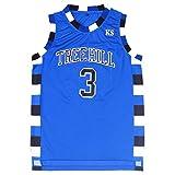 TUEIKGU Mens Lucas Scott 3 Ravens Basketball Jersey Stitched Sports Movie Jersey Blue (Large)
