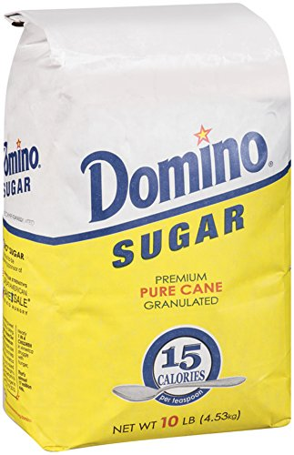 DOMINO FOODS Sugar Granulated, 10 lb