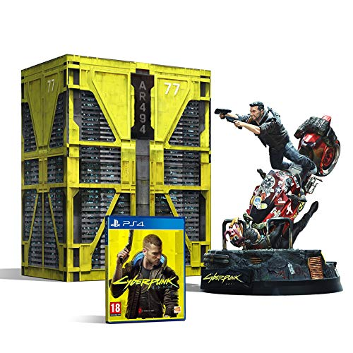 BANDAI NAMCO Entertainment Cyberpunk 2077 Collector's Edition vídeo - Juego (PlayStation 4, RPG (juego de rol))