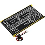 GAXI Battery Replacement for Leapfrog LeapPad Platinum Kids Learning Compatible with Leapfrog XDi Ultra, Tablet Battery