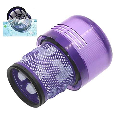 Filtro di Ricambio per Dyson V10 Compatibile con filtro aspirapolvere lavabile Filtro Lavabile Compatibile unità Filtro Lavabile Parte di ricambio del filtro del vuoto lavabile compatibile