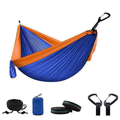 NOBRAND 300 * 200 Double Hammock Outdoor Camping Parachute Hammock Backpack Travel Survival Hunting Sleeping Portable Hanging Garden Bed