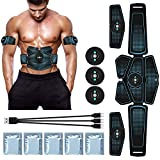 Duang EMS Bauchmuskeltrainer AbS Trainer Fitness Training Gear Bauchmuskeln Toner