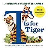 Best For Learning Animals+Alphabet - T Is For Tiger Toddler's First Book Of Animals Review
