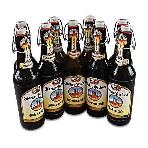 Hacker-Pschorr Münchner Hell (9 Flaschen à 0,5 l / 5,0% vol.)