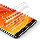 RIWNNI [3 Unidades Protector Pantalla para Samsung Galaxy S8, Ultra Fino Soft TPU Película Alta Definicion Cobertura Completa Protector de Pantalla para Samsung Galaxy S8 - Transparente