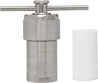 100ml Hydrothermal Synthesis Autoclave Reactor in 220℃ 3Mpa with PTFE Liner Teflon Vessel Acid and Alkali Resistance 25/50/100/150/200/250/300/500ml (Customizable)