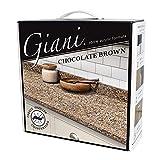 Giani Granite Countertop Paint Kit 2.0- 100% Acrylic (Chocolate Brown)