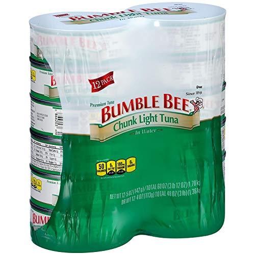 Evaxo Bumble Bee Chunk Light Tuna in Water (5 oz., 12 ct.) - SET OF 2