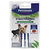 Phytosoin - 092631 - Pipettes Insectifuges Petits Chiens - x 2