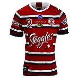 HQSG Camiseta de rugby de Sydney Rooster 2020, edición conmemorativa Anzac, camisetas de rugby para hombre, ropa deportiva de la Copa del Mundo de manga corta, camiseta de rugby (S-XXXL