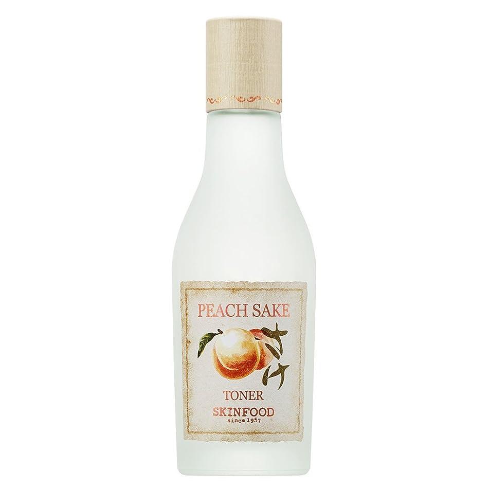 SKIN FOOD Peach Sake Toner 135ml (4.56 fl.oz.)