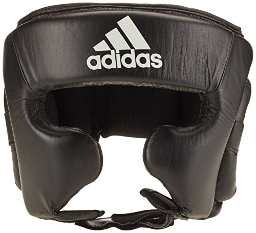 adidas Training Headguard - Protector de Cabeza, Color Negro/Blanco, tamaño Extra-Large