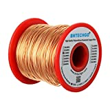 BNTECHGO 22 AWG Magnet Wire - Enameled Copper Wire - Enameled Magnet Winding Wire - 1.0 lb - 0.0256' Diameter 1 Spool Coil Natural Temperature Rating 155℃ Widely Used for Transformers Inductors