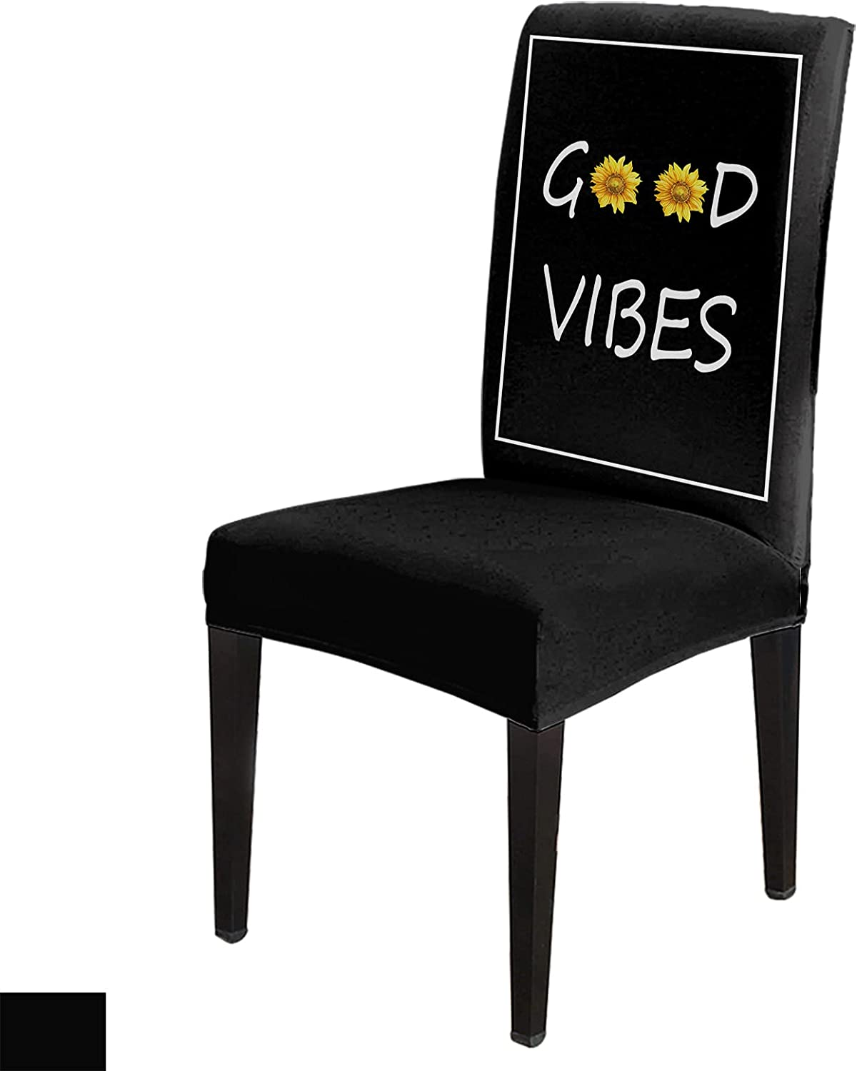 8 Per Set At the price Good Vibes with White Chair Sunflowers Cover Line Thin discount
