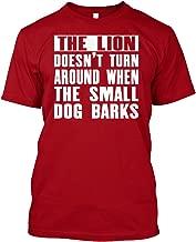The Lion Doesnt Turn Around XL - Deep red Tshirt - Hanes Tagless Tee