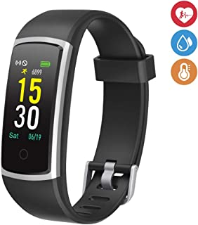 moreFit Fitness Tracker, Waterproof Activity Tracker Smart Watch with Heart Rate Monitor, Wearable Smart Wristband Pedometer Watch with Sleep Monitor for Woman Men Kids