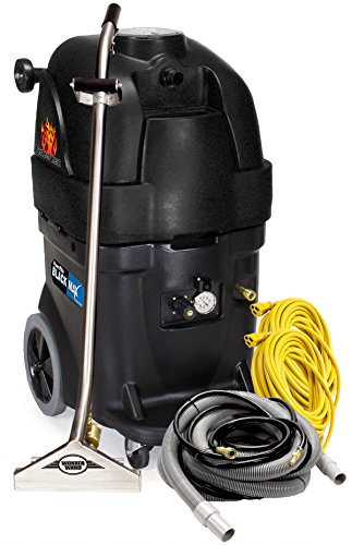 Review Powr-Flite PFX1385MAX2 Max Hot Water Carpet Extractor Starter Pack, 13 gal Capacity, Black