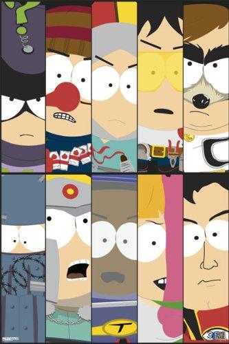 Pyramid South Park Superheroes Wall Poster