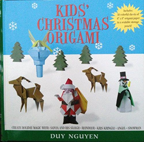 Kids' Christmas Origami