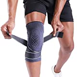 BERTER Knee Brace for Men Women Compression Sleeve Non-Slip Knee Support Stability Comfort for Running, Weightlifting,...