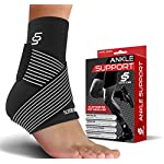 Sleeve Stars Ankle Brace for Plantar Fasciitis – Ankle Wrap Heel Brace for Heel Pain, Ankle Support and Ankle Protector Foot Brace, Ankle Brace for Women and Men, Heel Spur Brace Ankle Sleeve (Single)