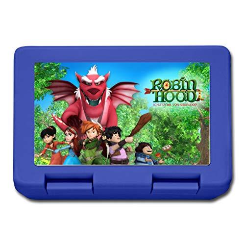 Robin Hood Schlitzohr Von Sherwood Gruppenbild Lunchbox, Royalblau