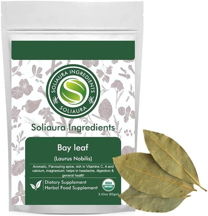 Homemade Indian Cuisine Bay Sale item Leaf Laurus Nobilis Max 76% OFF Oz Sol 2.65 75gm