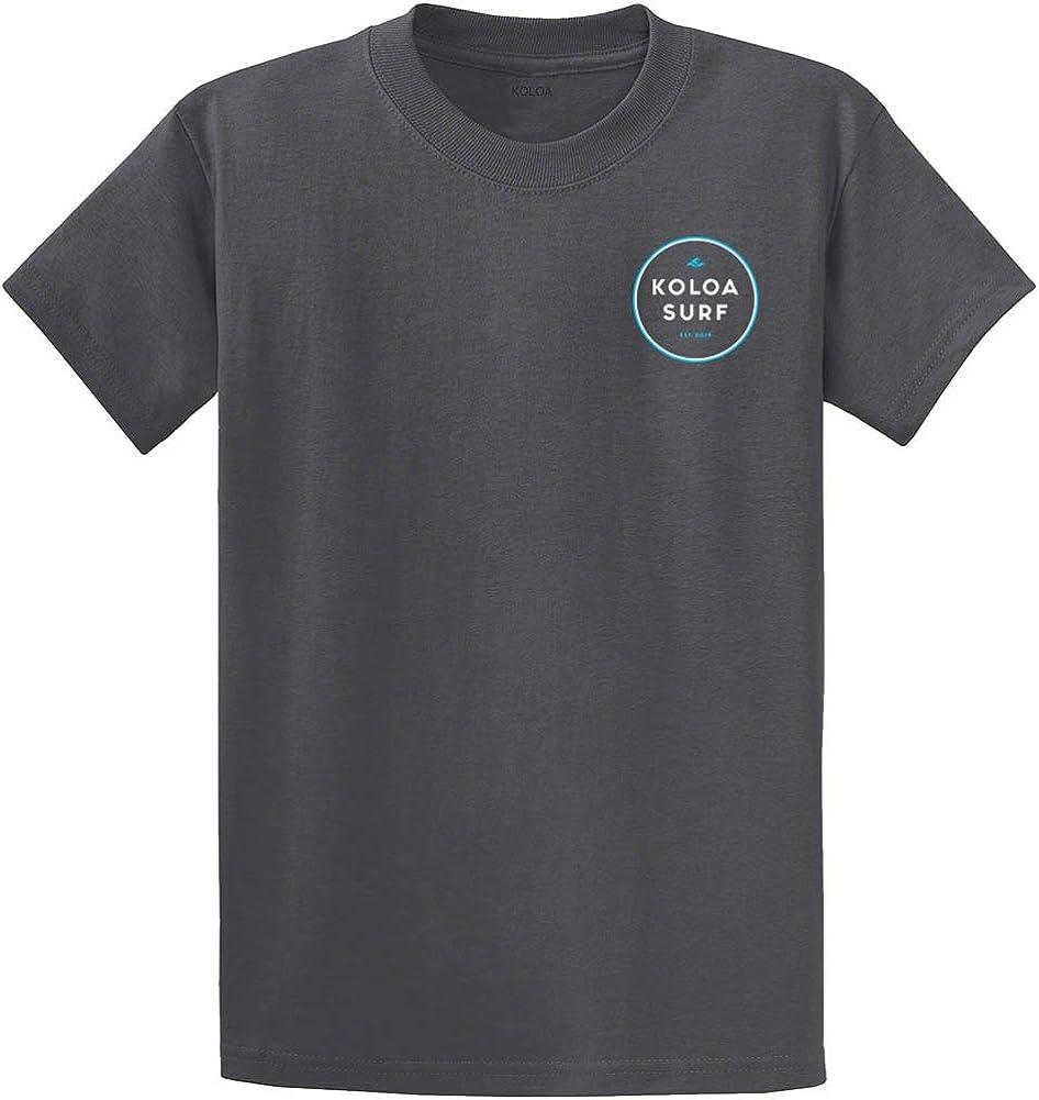 Koloa Mens The Original Circle Logo Cotton Tees - Reg, Big and Tall
