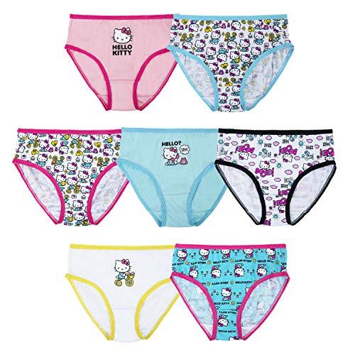 Girls Hello Kitty 7pk Panty Set - Assorted 6